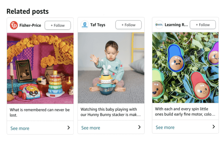What Are Amazon Posts? Examples & Guidelines for Image-Led Browsing